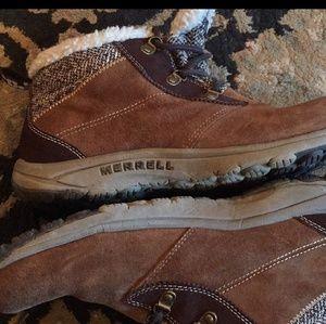 Merrell winter boots.